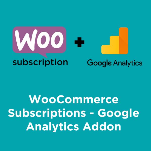 woocommerce subscription google analytics
